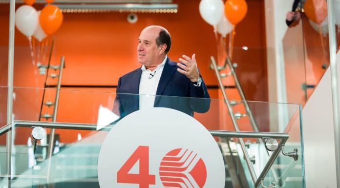 Kronos Lowell HQ, CEO Aron Ain