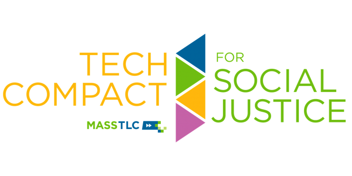 The MassTLC Tech Compact for Social Justice logo