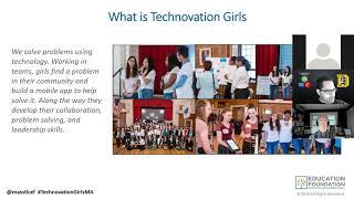 Technovation girls image