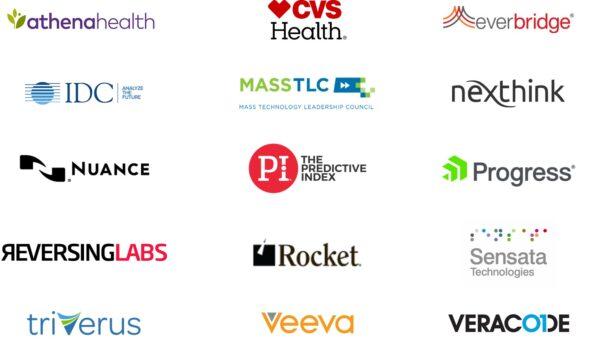 Logos of 15 companies
