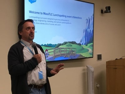 Stefan Piesche Lunchspotting at Salesforce