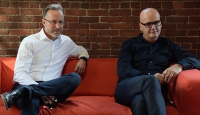 Essential Design's Scott Stropkay and Richard Watson