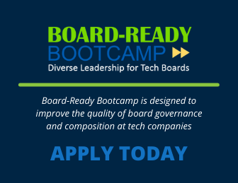 Text info about Board-Ready Bootcamp and call to apply