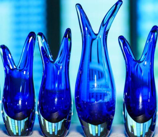 MassTLC Leadership Awards Vases