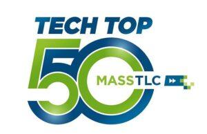 Image of Tech Top 50 logo.