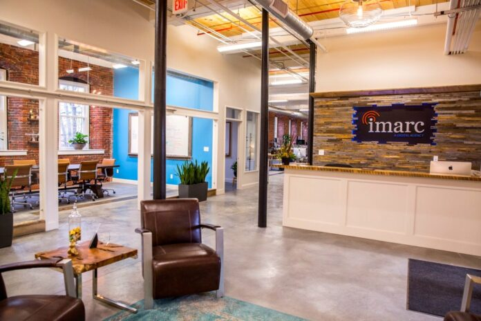 Image of iMarc office lobby