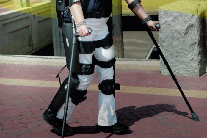 ReWalk exoskeleton