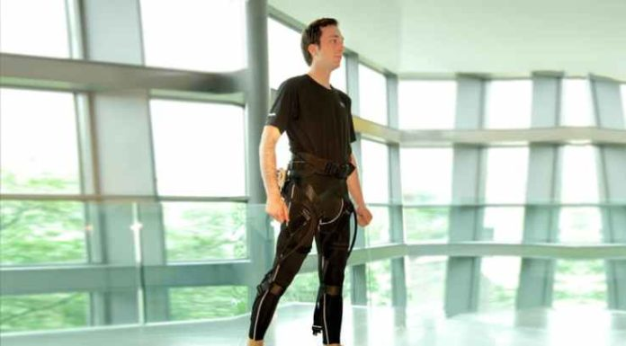 ReWalk softsuit exoskeleton